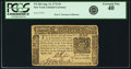 Colonial Notes:New York, New York August 13, 1776 $5 Fr. NY-204. PCGS Extremely Fine 40.....