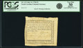 Colonial Notes:North Carolina, North Carolina July 14, 1760 3 Pounds NC-112. PCGS Very Fine 30Apparent.. ...
