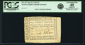 Colonial Notes:North Carolina, North Carolina April 23, 1761 3 Pounds Fr. NC-127. PCGS ExtremelyFine 40 Apparent.. ...
