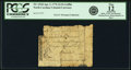 Colonial Notes:North Carolina, North Carolina April 2, 1776 $1/16 Griffin Fr. NC-153d. PCGS Fine 12 Apparent.. ...