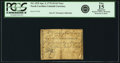 Colonial Notes:North Carolina, North Carolina April 2, 1776 $1/16 Vase of Flowers Fr. NC-153f.PCGS Fine 15 Apparent.. ...
