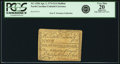 Colonial Notes:North Carolina, North Carolina April 2, 1776 $1/4 Halibut Fr. NC-155h PCGS VeryFine 20 Apparent.. ...
