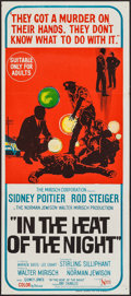 "Movie Posters:Academy Award Winners, In the Heat of the Night (United Artists, 1967). AustralianPost-War Daybill (13"" X 30""). Academy Award Winners.. ..."