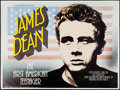 "Movie Posters:Documentary, James Dean: The First American Teenager (Goodtimes Enterprises, 1975). British Quad (30"" X 40""). Documentary.. ..."
