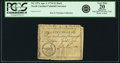 Colonial Notes:North Carolina, North Carolina April 2, 1776 $1 Duck Fr. NC-157a. PCGS Very Fine 20Apparent.. ...