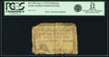 Colonial Notes:North Carolina, North Carolina April 2, 1776 $1 Raccoon Fr. NC-157b PCGS Fine 12 Apparent.. ...