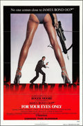 "Movie Posters:James Bond, For Your Eyes Only (United Artists, 1981). One Sheet (27"" X 41"") Advance. James Bond.. ..."