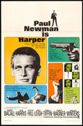 "Movie Posters:Crime, Harper (Warner Brothers, 1966). One Sheet (27"" X 41""). Crime.. ..."