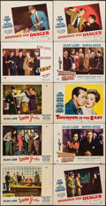 """Movie Posters:Crime, Lucky Jordan & Others Lot (Paramount, 1942). Lobby Cards (10) (11"""" X 14""""). Crime.. ... (Total: 10 Items)"""