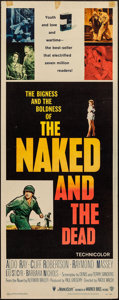 "Movie Posters:War, The Naked and The Dead & Others Lot (RKO, 1958). Inserts (3)(14"" X 36""). War.. ... (Total: 3 Items)"