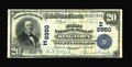 National Bank Notes:Pennsylvania, Ringtown, PA - $20 1902 Date Back Fr. 642 The First NB Ch. # (E)6950. ...