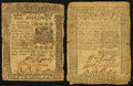 Colonial Notes:Pennsylvania, Pennsylvania April 25, 1776.. ... (Total: 2 notes)