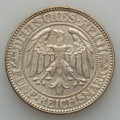 Germany, Germany: Weimar Republic Pair of 5 Mark Oaktree Coins,... (Total: 2 coins)