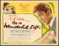 "Movie Posters:Fantasy, It's a Wonderful Life (RKO, 1946). Title Lobby Card (11"" X 14"").. ..."