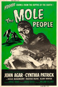 "Movie Posters:Science Fiction, The Mole People (Universal International, 1956). Poster (40"" X60"").. ..."