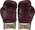 Boxing Collectibles:Autographs, 1968 Muhammad Ali Signed Boxing Gloves. ...