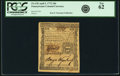 Colonial Notes:Pennsylvania, Pennsylvania April 3, 1772 18 Pence Fr. PA-155. PCGS New 62.. ...