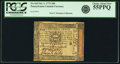 Colonial Notes:Pennsylvania, Pennsylvania October 1, 1773 18 Pence Fr. PA-163. PCGS Choice AboutNew 55PPQ.. ...
