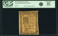Colonial Notes:Pennsylvania, Pennsylvania March 25, 1775 14 Shillings Fr. PA-173. PCGS ChoiceNew 63 Apparent.. ...