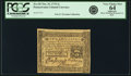 Colonial Notes:Pennsylvania, Pennsylvania October 25, 1775 2 Shillings Fr. PA-187. PCGS VeryChoice New 64 Apparent.. ...