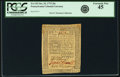 Colonial Notes:Pennsylvania, Pennsylvania October 25, 1775 20 Shillings Fr. PA-192. PCGSExtremely Fine 45.. ...