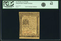 Colonial Notes:Pennsylvania, Pennsylvania December 8, 1775 20 Shillings Fr. PA-194. PCGS ChoiceNew 62.. ...