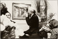 Photographs:Gelatin Silver, Frank Golden (American, 20th Century). Andy Warhol with hiscamera. Gelatin silver. 6-3/8 x 9-1/2 inches (16.2 x 24.1 cm...