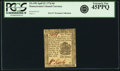 Colonial Notes:Pennsylvania, Pennsylvania April 25, 1776 6 Pence Fr. PA-199. PCGS Extremely Fine45PPQ.. ...