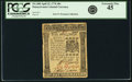 Colonial Notes:Pennsylvania, Pennsylvania April 25, 1776 40 Shillings Fr. PA-208. PCGS ExtremelyFine 45.. ...