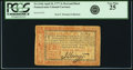 Colonial Notes:Pennsylvania, Pennsylvania April 10, 1777 3 Shillings Red and Black Fr. PA-216b.PCGS Very Fine 25.. ...