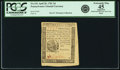Colonial Notes:Pennsylvania, Pennsylvania April 20, 1781 3 Pence Fr. PA-241. PCGS Extremely Fine45 Apparent.. ...