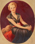 Mainstream Illustration, Jan Nosek (American, 1876-1966). Blonde Elegance. Gouache onboard. 24 x 19.5 in. (image). Signed lower right. ...