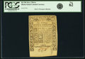 Colonial Notes:Rhode Island, Rhode Island May 1786 6 Shillings Fr. RI-296. PCGS New 62.. ...