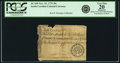 Colonial Notes:South Carolina, South Carolina November 15, 1775 30 Shillings Fr. SC-109. PCGS VeryFine 20 Apparent.. ...