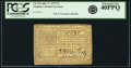 Virginia July 17, 1775 5 Shillings Small Ordinance Fr. VA-73a. PCGS Extremely Fine 40PPQ