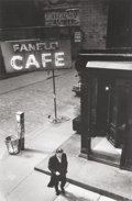 Photographs, Loren Haynes (American, 20th Century). Fanelli Cafe. Gelatin silver. 11-3/4 x 7-3/4 inches (29.8 x 19.7 cm). The photogr...
