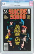 Modern Age (1980-Present):Superhero, Suicide Squad #1 (DC, 1987) CGC NM 9.4 White pages....