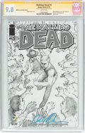 Modern Age (1980-Present):Horror, Walking Dead #1 Wizard World San Jose Sketch Edition - SignatureSeries (Image, 2015) CGC NM/MT 9.8 White pages....