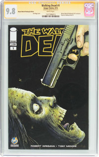 Walking Dead #1 Wizard World Pittsburgh Edition - Signature Series (Image, 2015) CGC NM/MT 9.8 White pages