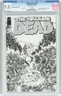 Modern Age (1980-Present):Horror, Walking Dead #1 Wizard World Austin Sketch Edition (Image, 2015)CGC NM/MT 9.8 White pages....