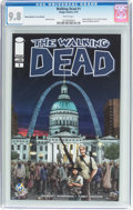 Modern Age (1980-Present):Horror, Walking Dead #1 Wizard World St. Louis Edition (Image, 2015) CGCNM/MT 9.8 White pages....
