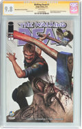 Modern Age (1980-Present):Horror, Walking Dead #1 Wizard World Cleveland Edition - Signature Series(Image, 2015) CGC NM/MT 9.8 White pages....