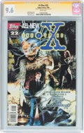 Modern Age (1980-Present):Science Fiction, The X-Files #22 Signature Series (Topps Comics, 1996) CGC NM+ 9.6White pages....