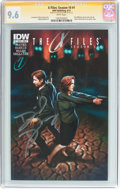 Modern Age (1980-Present):Science Fiction, The X-Files: Season 10 #1 Signature Series (IDW Publishing, 2013)CGC NM+ 9.6 White pages....