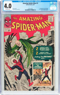 Silver Age (1956-1969):Superhero, The Amazing Spider-Man #2 (Marvel, 1963) CGC VG 4.0 Off-white pages....