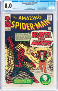 Silver Age (1956-1969):Superhero, The Amazing Spider-Man #15 (Marvel, 1964) CGC VF 8.0 Off-white pages....