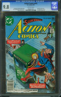 Bronze Age (1970-1979):Superhero, Action Comics #475 (DC, 1977) CGC NM/MT 9.8 OFF-WHITE pages.