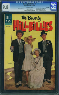 Beverly Hillbillies #7 - File Copy (Dell, 1964) CGC NM/MT 9.8 OFF-WHITE pages
