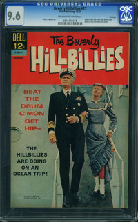 Beverly Hillbillies #15 - File Copy (Dell, 1966) CGC NM+ 9.6 OFF-WHITE TO WHITE pages