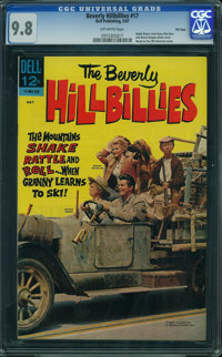 Beverly Hillbillies #17 - File Copy (Dell, 1967) CGC NM/MT 9.8 OFF-WHITE pages